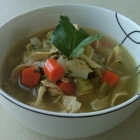 'Cure A Flu' Chicken Noodle Soup