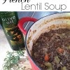 Baby weight & lentils.