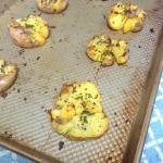 Crack hot potatoes.