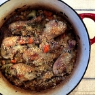 Chicken Cassoulet.