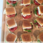 BLT Sliders.
