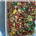 Charred corn salad.