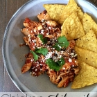 Dinner in a snap: Chicken Chilaquiles.