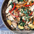 Dinner in a snap: Thai basil stir fry