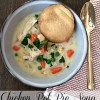 Chicken pot pie soup.
