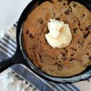 Warm cookie skillet.