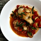 Healthy chicken cacciatore.