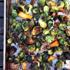 Bacon roasted brussels sprouts