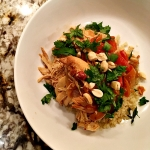 Slow cooker Thai peanut chicken