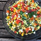 Raw summer salad.