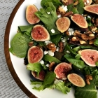 Fig and feta salad.