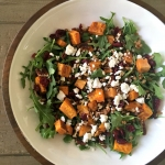 Fall wheatberry salad