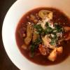 Slow cooker Italian tortellini soup