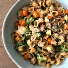 Orecchiette with Sausage & Veggies