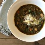 Slow cooker detox lentil soup