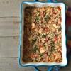 Baked shrimp casserole