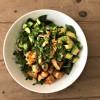 Easy shrimp and avocado bowls