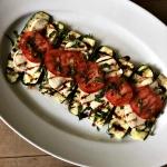 Grilled Zucchini Caprese