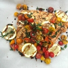 Roasted Bruschetta Salmon