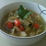 'Cure A Flu' Chicken Noodle Soup