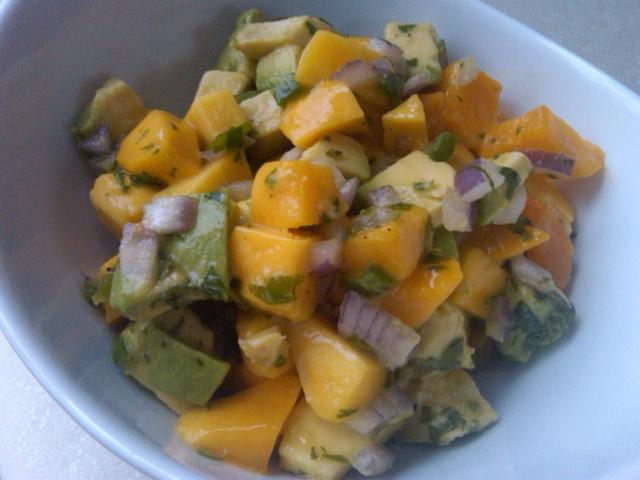 Sunny Mango Salsa