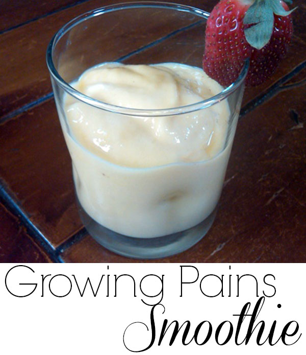 Growing Pains Smoothie