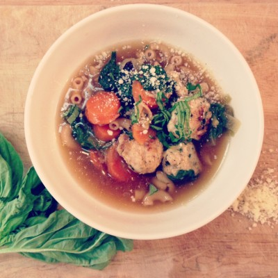 A soup for spring