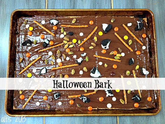 Halloween Bark