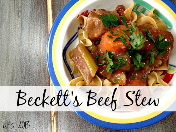 Beckett's Beef Stew