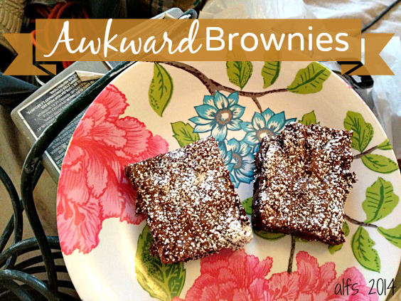 awkward brownies