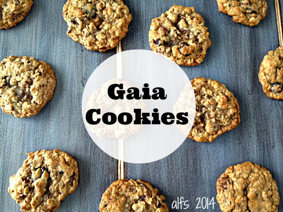 Gaia Cookies from Bread & Wine Shauna Niequist