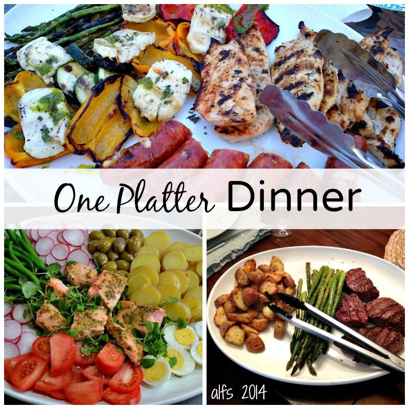 one platter dinner