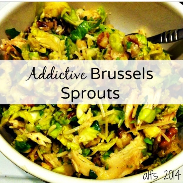 addictive brussels sprouts