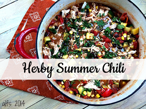 herby summer chili