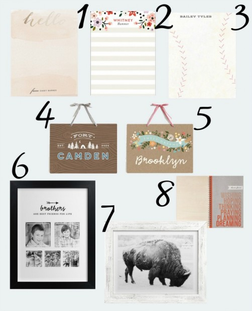 Courtney Minted Gift Guide 3 - Black Numbers