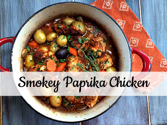 smokey paprika chicken