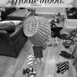 Motherhood: on toys & clean up.