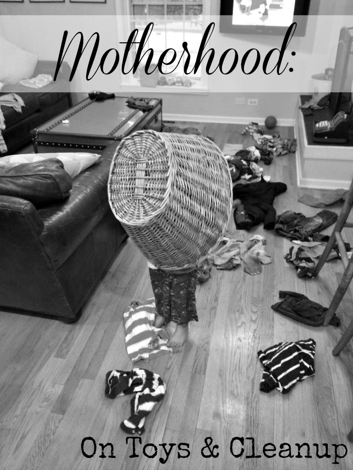 Motherhood on Toys and Cleanup
