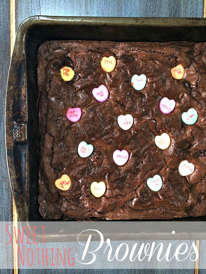 sweet nothing brownies