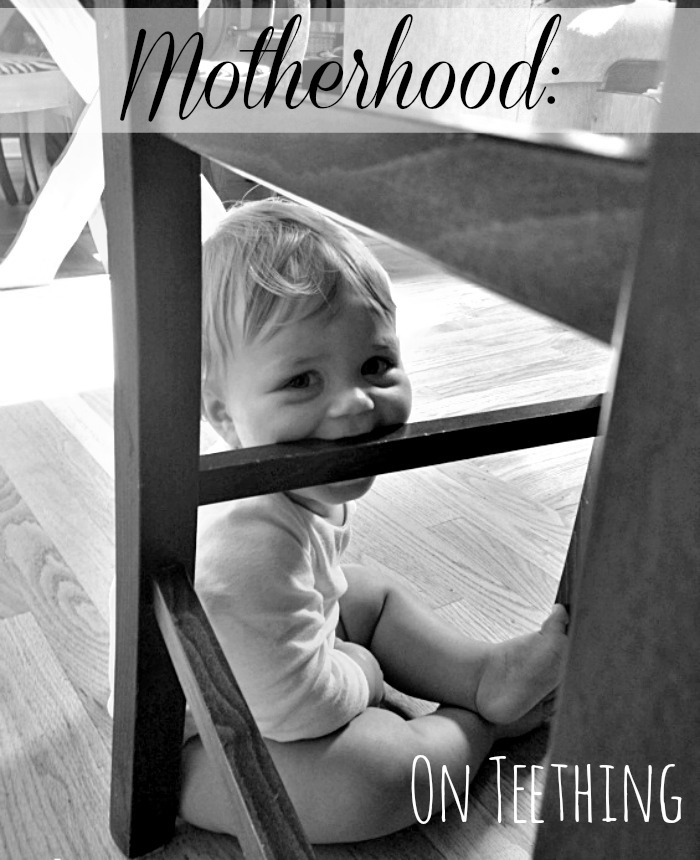 motherhood on teething