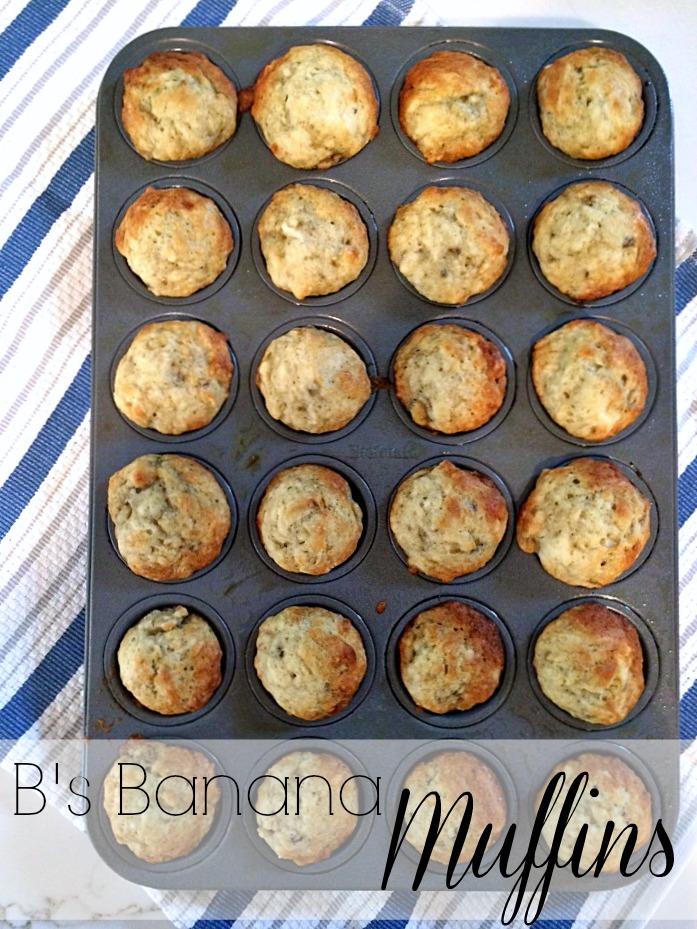 B's Banana Muffins