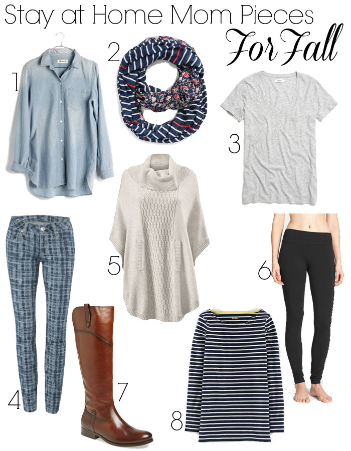 Stay at Home Mom Pieces for Fall