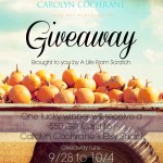 Win a $50 Gift Card for the Carolyn Cochrane Etsy Shop!