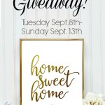 Home Sweet Home – giveaway!