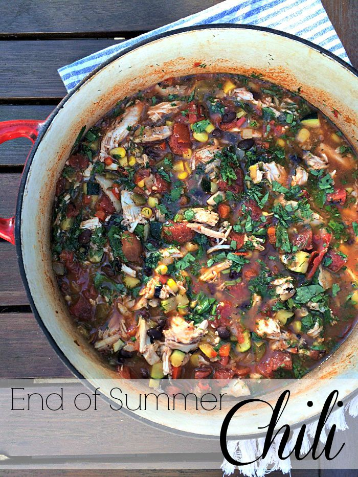 End of Summer Chili