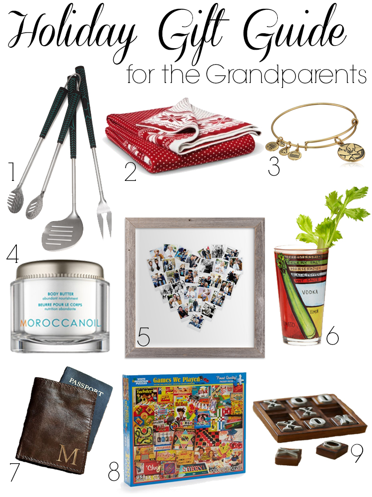 Holiday Gift Guide for Grandparents
