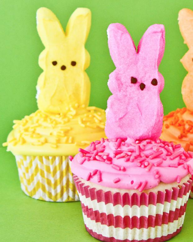 Easter Peeps Cupcake