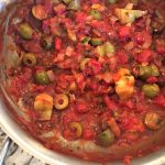 Homemade Mediterranean sauce
