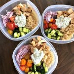 Meal prep Monday: Greek Chicken Bowls