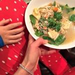 Slow cooker chicken tortellini bowls